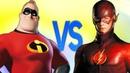 ФЛЭШ VS СУПЕРСЕМЕЙКА | СУПЕР РЭП БИТВА | The Flash ПРОТИВ The Incredibles Мультик Movie
