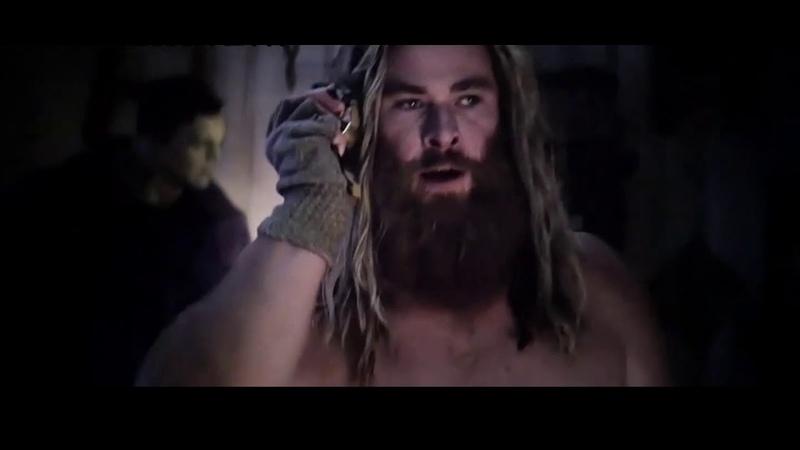 Thor and Korg play Fortnite Scene in Avengers Endgame Noobmaster69 Best Quality HD