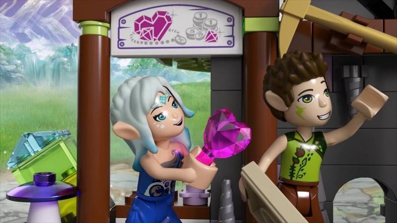Набор LEGO ELVES 41177 Кристальная шахта