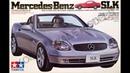 Обзор Mercedes Benz SLK Tamiya 1/24 сборные модели