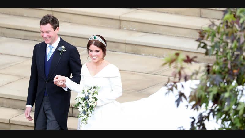 Свадьба принцессы Евгении Йорской и Джека Кристофера Стампа