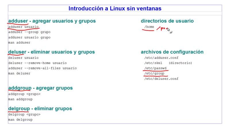 A Linux sin ventanas Lección 24