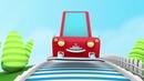 Машинка Макс учит английский алфавит Город Летающих Машинок Детские мультики