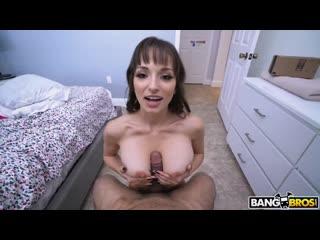 Lexi Luna – Creampie From the Delivery Guy [BangBros. Big Tits, Creampie, MILF, POV]