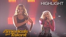 Bebe Rexha And Glennis Grace Perform Surprising Duet - America's Got Talent 2018
