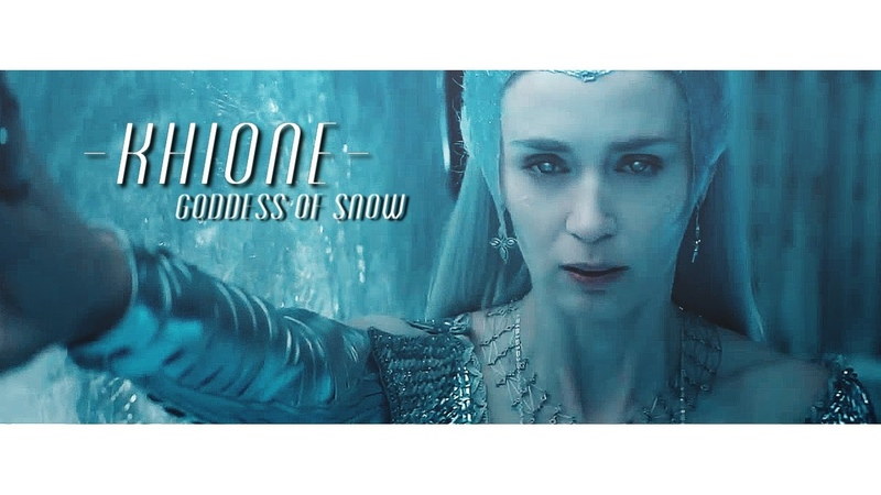 Freeze again   The goddess of snow {Khione}