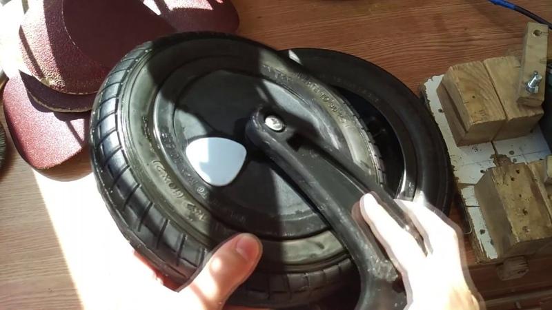 Как разобрать колесо TUTIS ZIPPY замена подшипника устранение люфта коляски