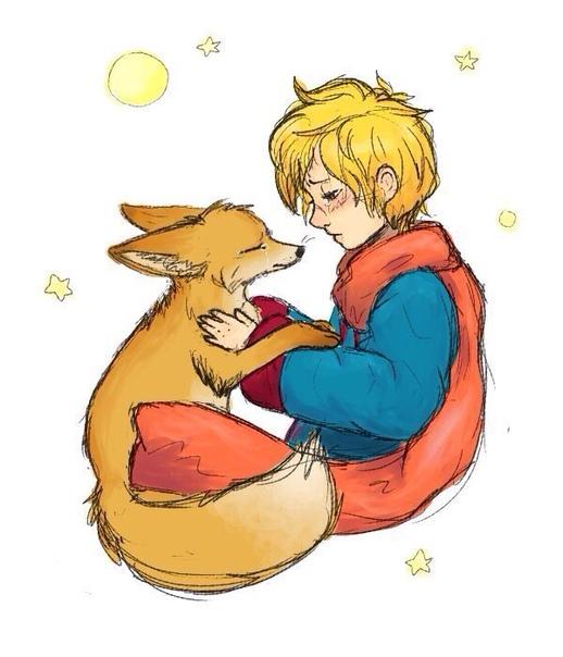 — я буду плакать о тебе, — вздохнул лис. — ты сам виноват, — сказал маленький принц. — я ведь не хотел, чтобы тебе было больно; ты сам пожелал, чтобы я тебя приручил... — да, конечно, — сказал