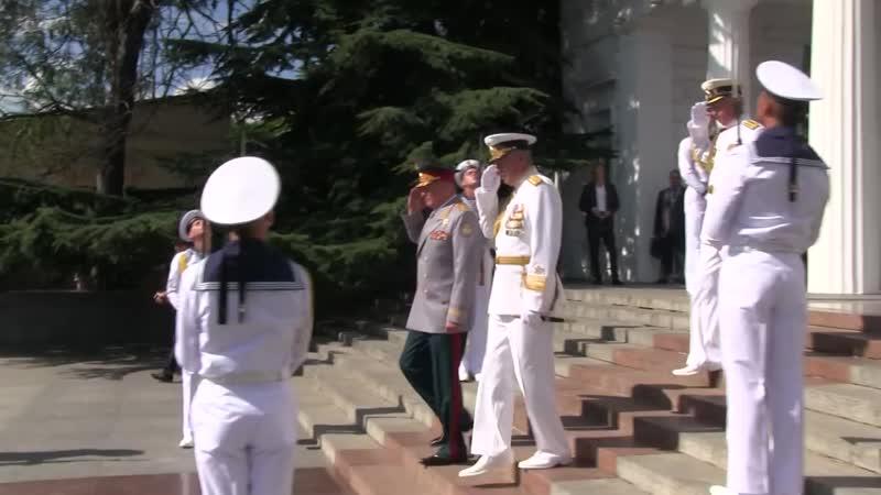День ВМФ в Севастополe.