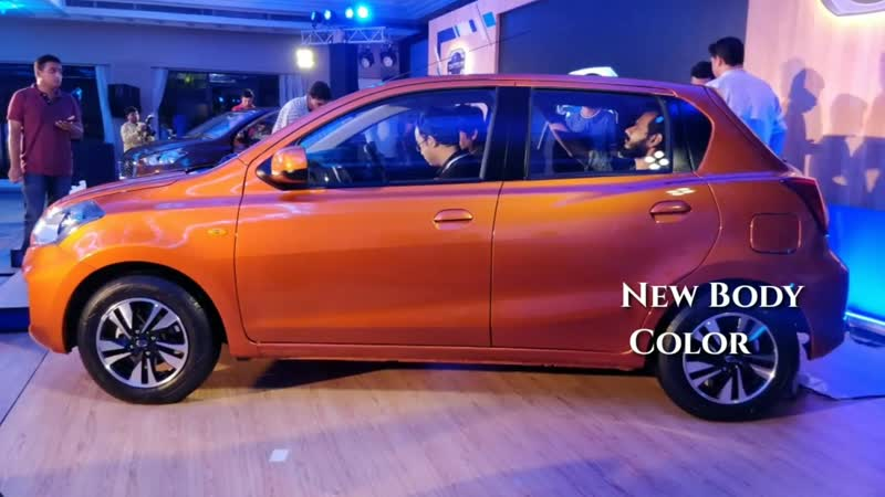 Datsun GO Facelift - Debut _ Exterior Interior