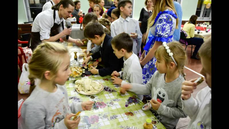 Центр детского творчества на Вадковском и проект Буквица Вкуса дарит вкус к хорошему