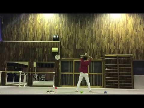JJF 2018 Qualifying video TARORIN Contact Juggling
