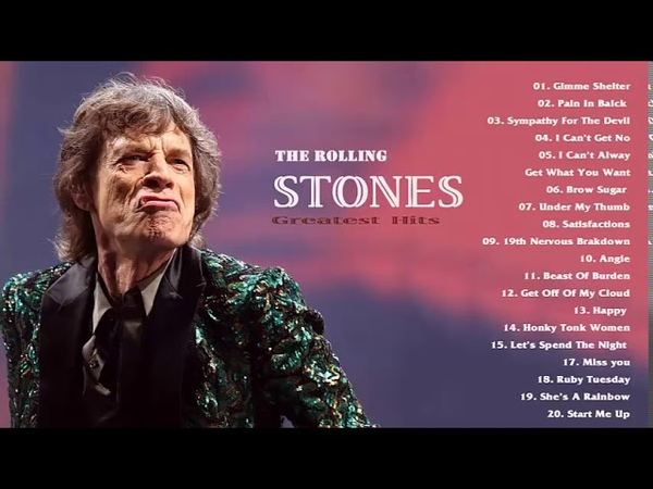 The Rolling Stones Greatest Hits Full Album 2018 HD