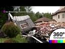 Беспредел в посёлке бизнес-класса Митрополье : людям ломают дома за отказ вступить в ТСЖ