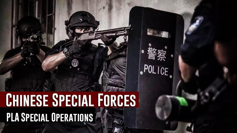 Chinese Special Forces 2018 PLA Special Operations Forces