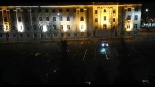 Безбашенные стритрейсеры в Саранске