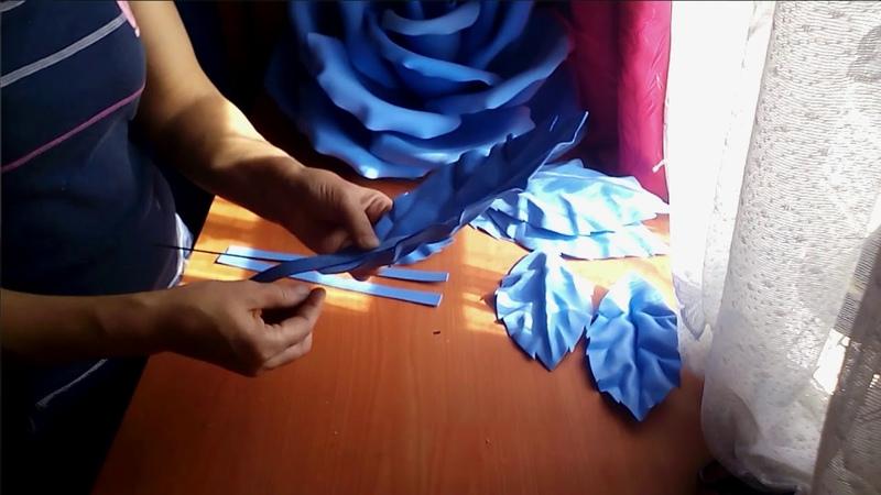 Роза для панно.3