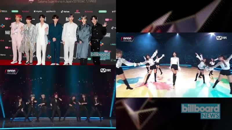 [VK][13.12.18] MAMA Fans Choice Japan Performances BTS, Stray Kids, Monsta X More @ Billboard