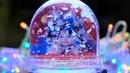 Сувениры Выборг Шар водяной с хлопьями снега и вашим фото