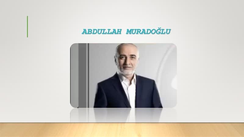 Abdullah Muradoğlu Şimdi de İlhan Ömer'in başörtüsüne kafayı taktılar