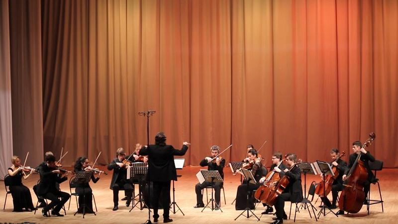 В А Моцарт Адажио и фуга до минор Оркестр под руководством Алексея Уткина