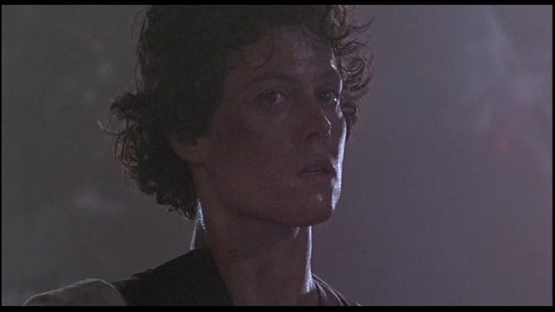 Aliens Ripley destroying queens eggs scene