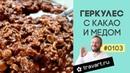 Геркулес с какао и мёдом ПП рецепт Овсяная каша Завтрак без сахара ТРАВАРТ Животворец Протопопов