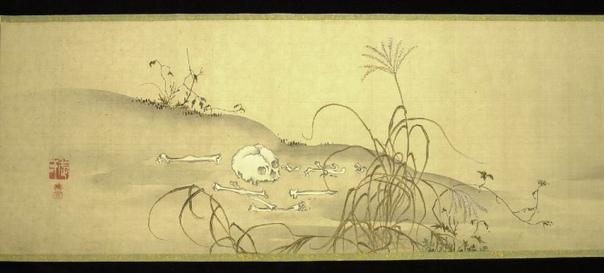 Красота человеческого разложения в японской акварели (2).