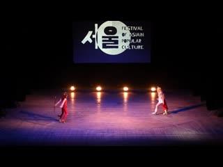 Lulu, anari, косбенд jandlland - she-ra, catra/she-ra and the princesses of power - fap 2019. festival of asian popular culture