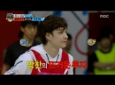 180925 Показывающий горячий боевой дух Бан Чан из Stray Kids @ 2018 Chuseok Idol Star Athletics Championship 2018 Chuseok ISAC