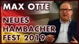 Max Otte Neues Hambacher Fest 2019 und die politische Lage