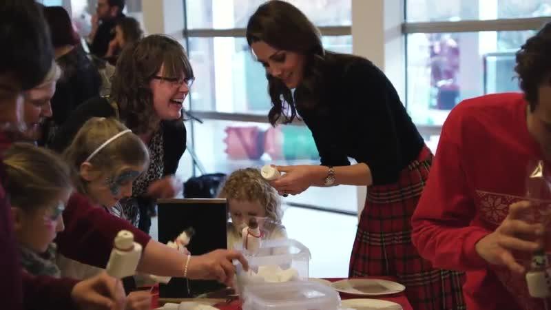 Уильям и Кэтрин организовали праздник для семей военных в Кенсингтонском дворце 04 12 2018
