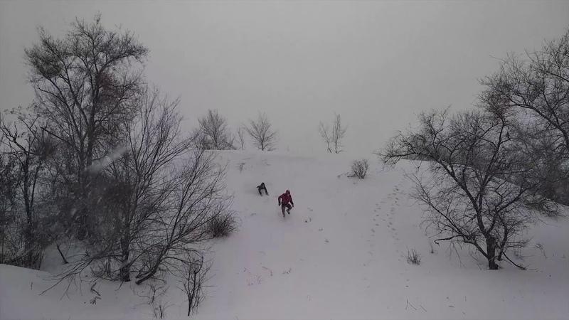 Как мы сходили в поход зимой. [Туризм Кривой Рог]