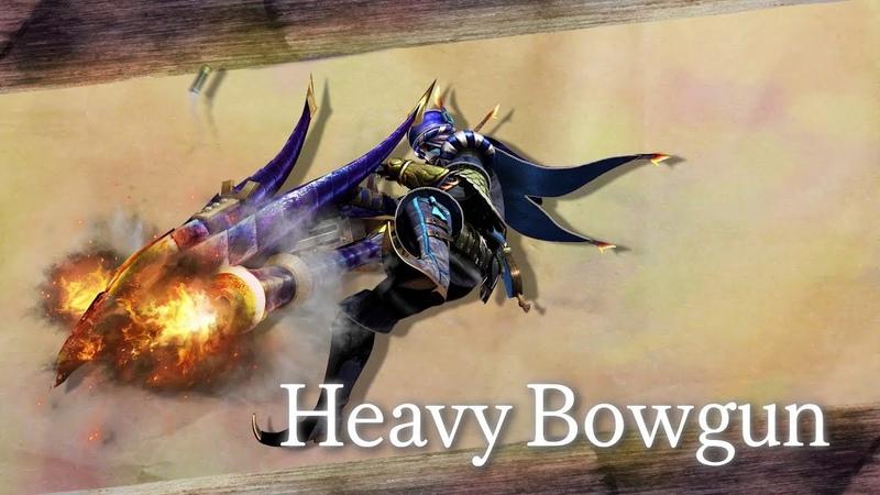 Monster Hunter Generations Ultimate (Heavy Bowgun)