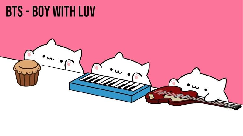 Bongo Cat - BTS Boy With Luv (K-POP)