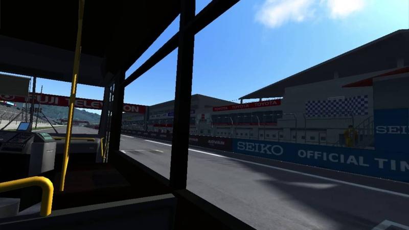 Bus Drift @ Fuji Speedway Deja Vu Assetto Corsa