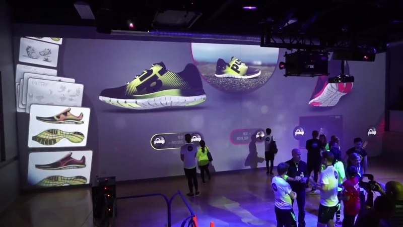 Reebok Interactive Wall