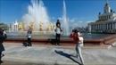 Москва. ВДНХ. Обновлённый фонтан Дружба народов запущен 30.04-2019