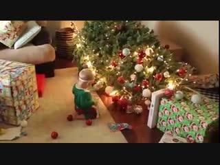 Новый год с ребенком это так-Дачники