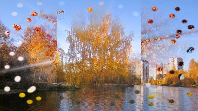 Золотая осень Нижний Новгород Автозавод Озеро земснаряд