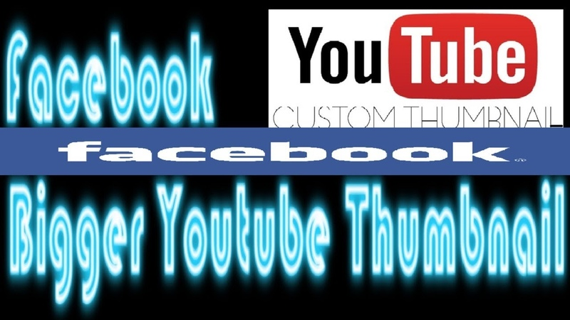 How To Post Youtube Videos With Bigger Thumbnail On Facebook No Disabling Embed Option 3rd Party
