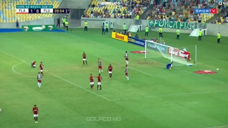 Flamengo 1 x 0 fluminense - Gols e melhores momentos ( copa sub 17)