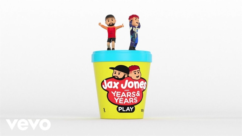 Jax Jones, Years Years - Play (Visualiser)