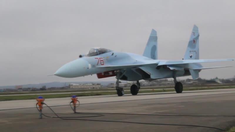 Истребительная авиация ЮВО пополнилась звеном новых модернизированных самолетов Су-27СМ3 поколения «4»