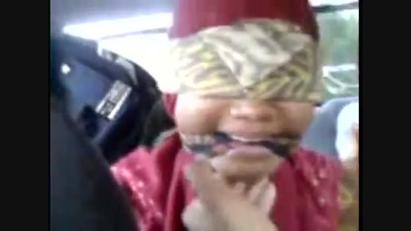 Blindfold gag indo