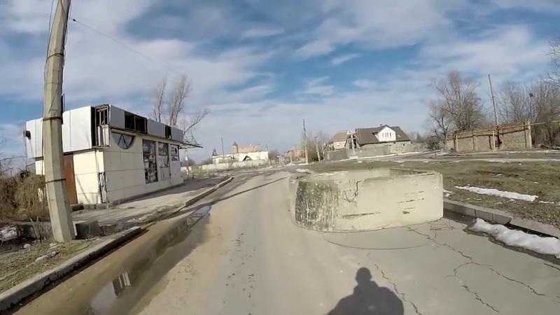 Донецк, ул. Стратонавтов, аэропорт. Февраль, 2019
