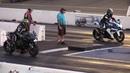 H2 Kawasaki vs GSXR 1000 Suzuki - drag racing of superbikes