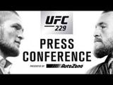Вторая Полная Пресс-Конференция Хабиба Нурмагомедова и Конора Макгрегора UFC 229 - Русский Перевод