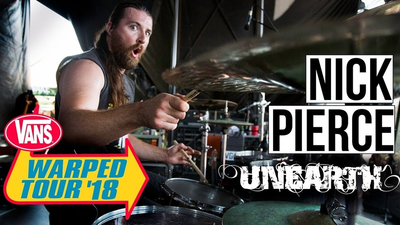 Nick Pierce | Unearth-Incinerate (WARPED TOUR 18 PERFORMANCE)