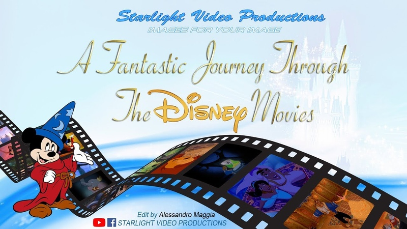 A Fantastic Journey Through The Disney Movies